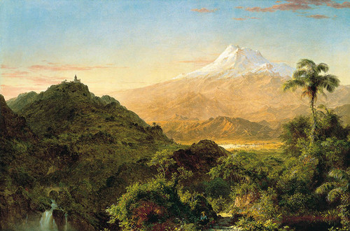 Art Prints of South American Landscape I by Frederic Edwin Church