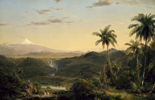 Art Prints of Cotopaxi II by Frederic Edwin Church