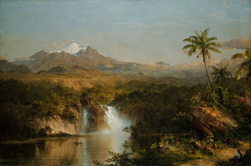 Art Prints of View of Cotopaxi by Frederic Edwin Church