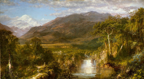 Art Prints of Heart of the Andes by Frederic Edwin Church