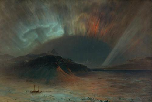 Art Prints of Aurora Borealis by Frederic Edwin Church