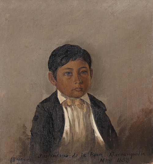 Art Prints of Barranquilla Columbia, Portrait of a Boy by Frederic Edwin Church
