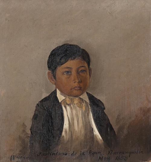 Art Prints of Barranquilla Columbia, Portrait of a Boy by Frederic Edwin Church