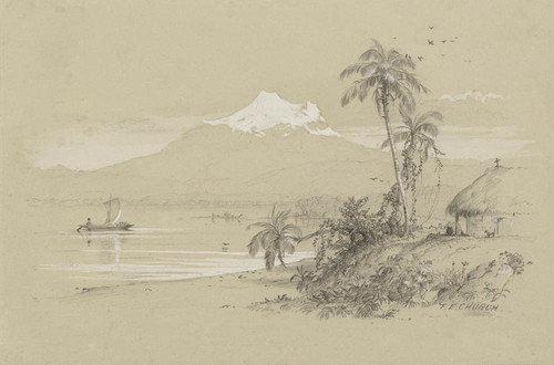Art Prints of Magdalena River, New granada, Equador by Frederic Edwin Church