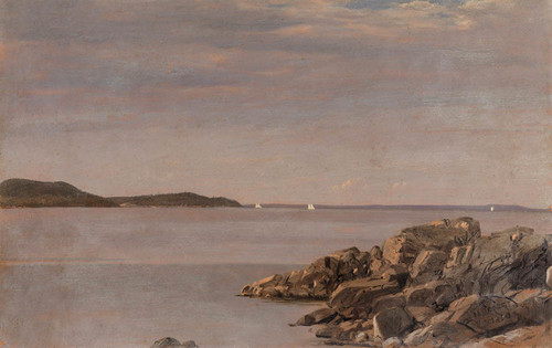 Art Prints of Mount Desert Island, Maine Coast by Frederic Edwin Church