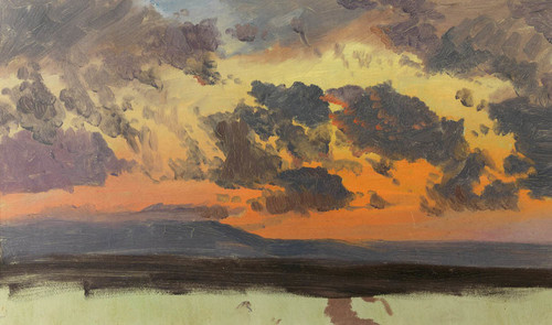 Art Prints of Sunset Jamaica, West Indies by Frederic Edwin Church