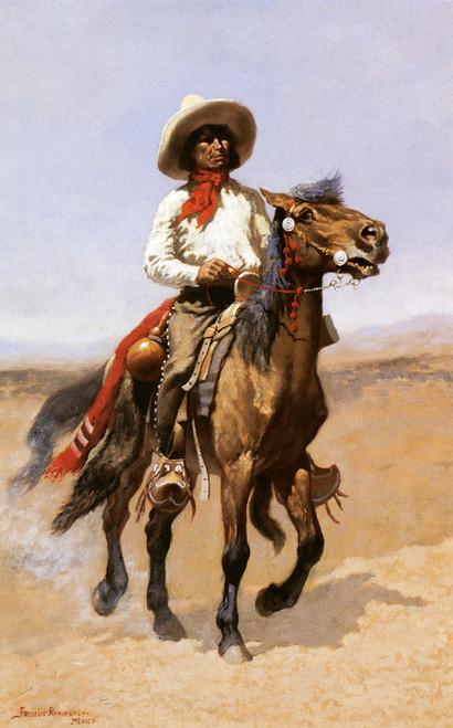Art Prints of A Regimental Scout by Frederic Remington