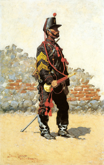 Art Prints of Bugler of Cavalry by Frederic Remington