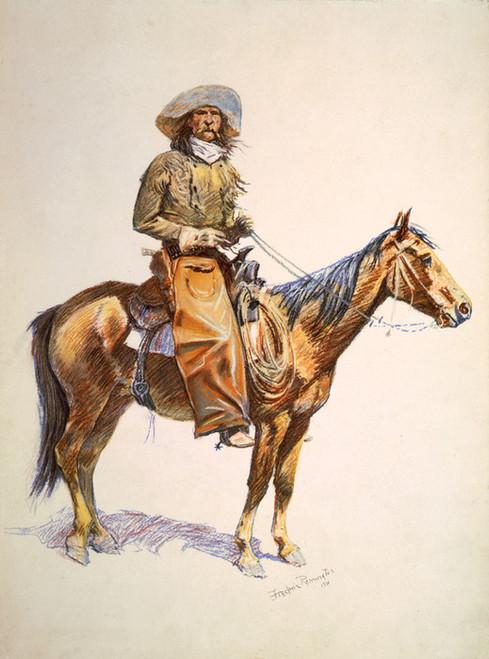 Art Prints of Arizona Cowboy by Frederic Remington