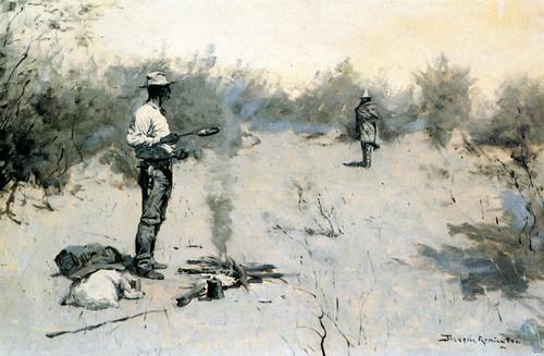 Art Prints of Hello Jose by Frederic Remington