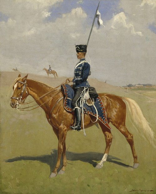 Art Prints of The Hussar by Frederic Remington