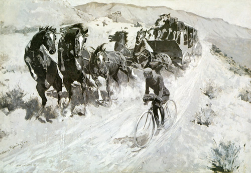 Art Prints of The Right of the Road by Frederic Remington