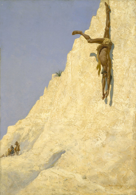 Art Prints of The Transgressor by Frederic Remington