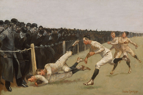 Art Prints of Touchdown, Yale vs. Princeton by Frederic Remington