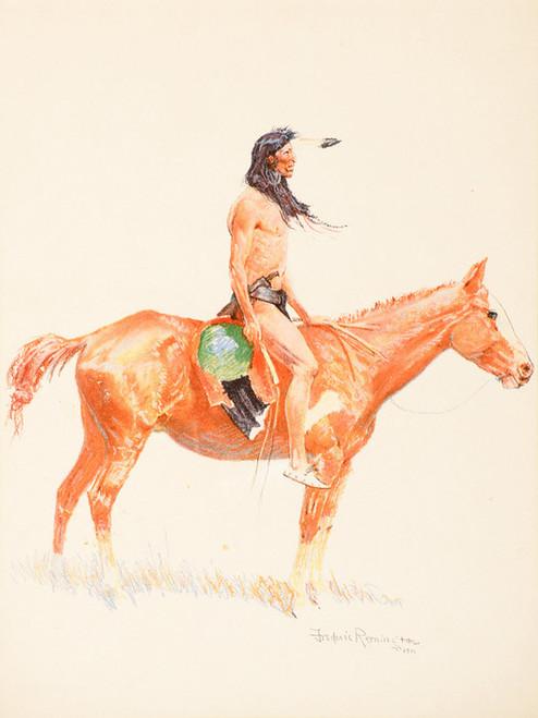 Art Prints of A Cheyenne Buck by Frederic Remington