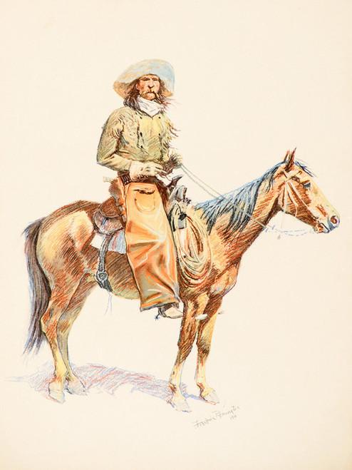 Art Prints of Arizona Cowboy II by Frederic Remington