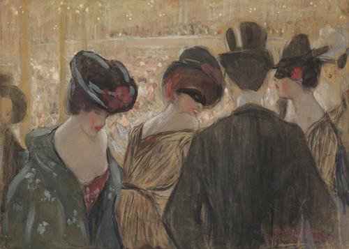 Art Prints of Bal-Bullier, Paris by Frederick Carl Frieseke