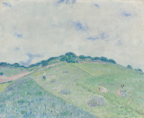 Art Prints of Hill at Giverny by Frederick Carl Frieseke