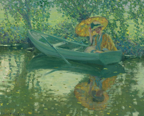 Art Prints of On the River by Frederick Carl Frieseke