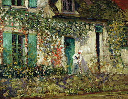 Art Prints of The House in Giverny by Frederick Carl Frieseke