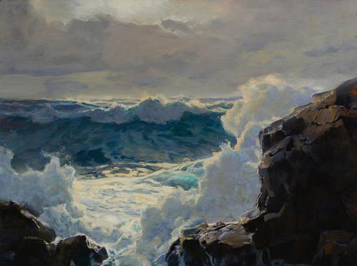 Art Prints of Breaking Waves by Frederick Judd Waugh