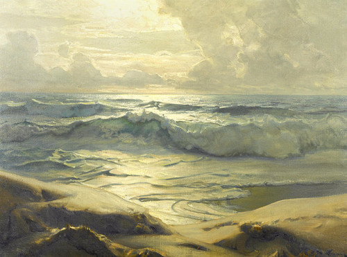 Art Prints of Beyond the Sands by Frederick Judd Waugh