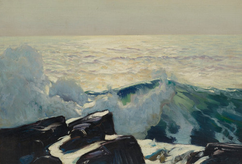 Art Prints of Rocky Sea and Coast by Frederick Judd Waugh