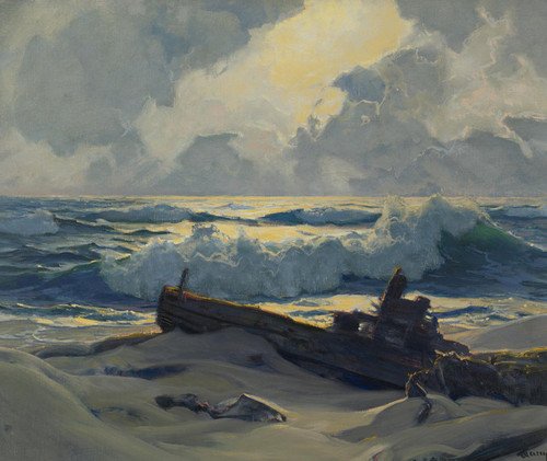 Art Prints of West Shore Provincetown by Frederick Judd Waugh