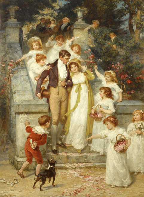 Art Prints of Off for the Honeymoon by Frederick Morgan