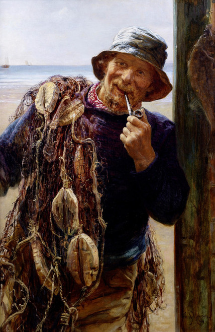 Art Prints of The Fisherman by Frederick Morgan