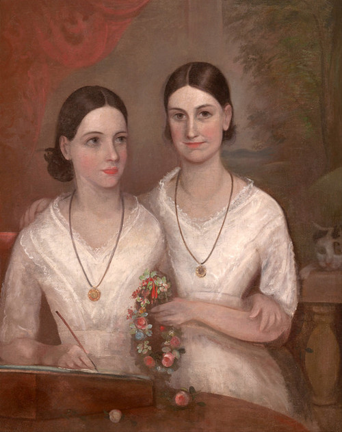 Art Prints of Daughters of Reverend William Browne by Frederick Strange
