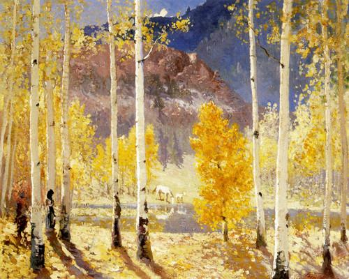 Art Prints of Golden Autumn by Fremont Ellis
