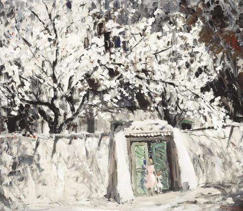 Art Prints of The Green Gate by Fremont Ellis