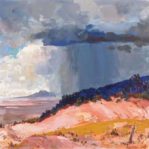 Art Prints of The Summer Rain by Fremont Ellis