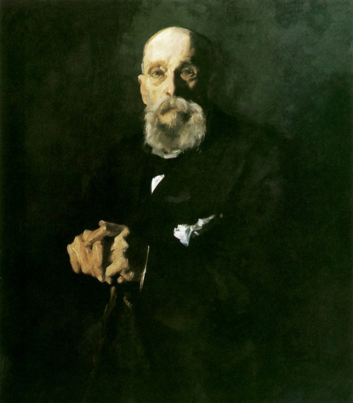 Art Prints of  Art Prints of A Portrait of George Bellows Sr. by George Bellows