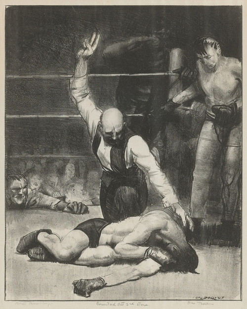 Art Prints of |Art Prints of Counted Out, Second Stone Mason by George Bellows