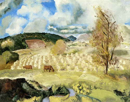 Art Prints of |Art Prints of Cornfield and Harvest by George Bellows