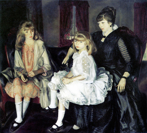Art Prints of |Art Prints of Emma and her Children by George Bellows