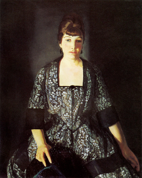 Art Prints of |Art Prints of Emma in the Black Print by George Bellows