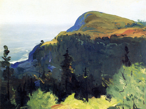 Art Prints of |Art Prints of Hill and Valley by George Bellows