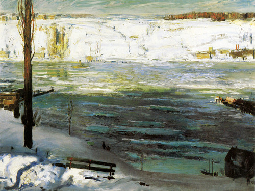 Art Prints of |Art Prints of Floating Ice, 1910 by George Bellows
