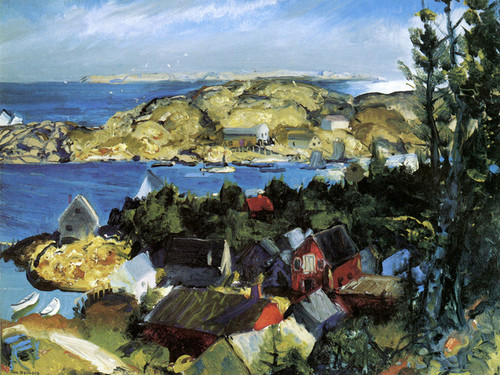 Art Prints of |Art Prints of Matinicus from Mt. Ararat by George Bellows