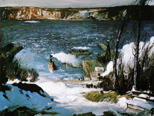 Art Prints of |Art Prints of North River by George Bellows