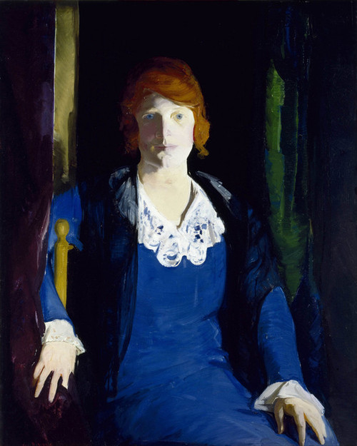 Art Prints of |Art Prints of Portrait of Florence Pierce by George Bellows