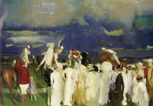 Art Prints of |Art Prints of Polo Crowd by George Bellows