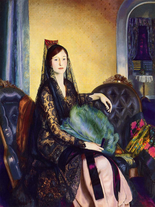 Art Prints of  Art Prints of Portrait of Elizabeth Alexander by George Bellows