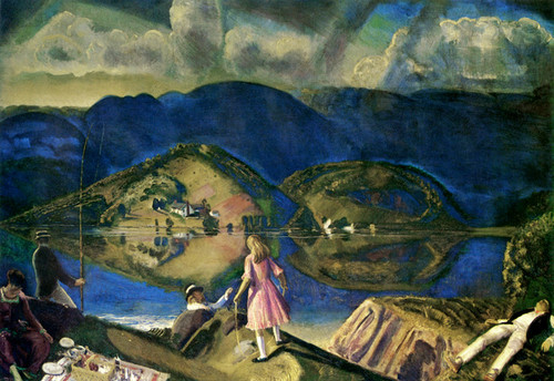 Art Prints of The Picnic by George Bellows