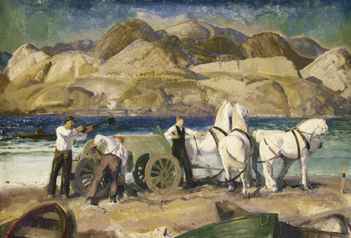 Art Prints of The Sand Cart by George Bellows