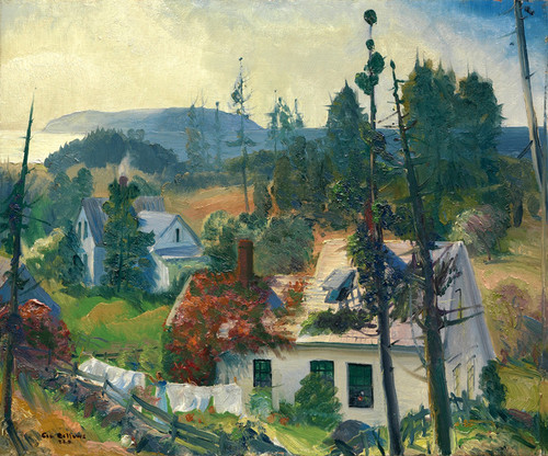 Art Prints of The Red Vine, Matinicus Island, Maine by George Bellows