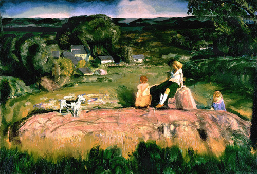 Art Prints of Three Children by George Bellows